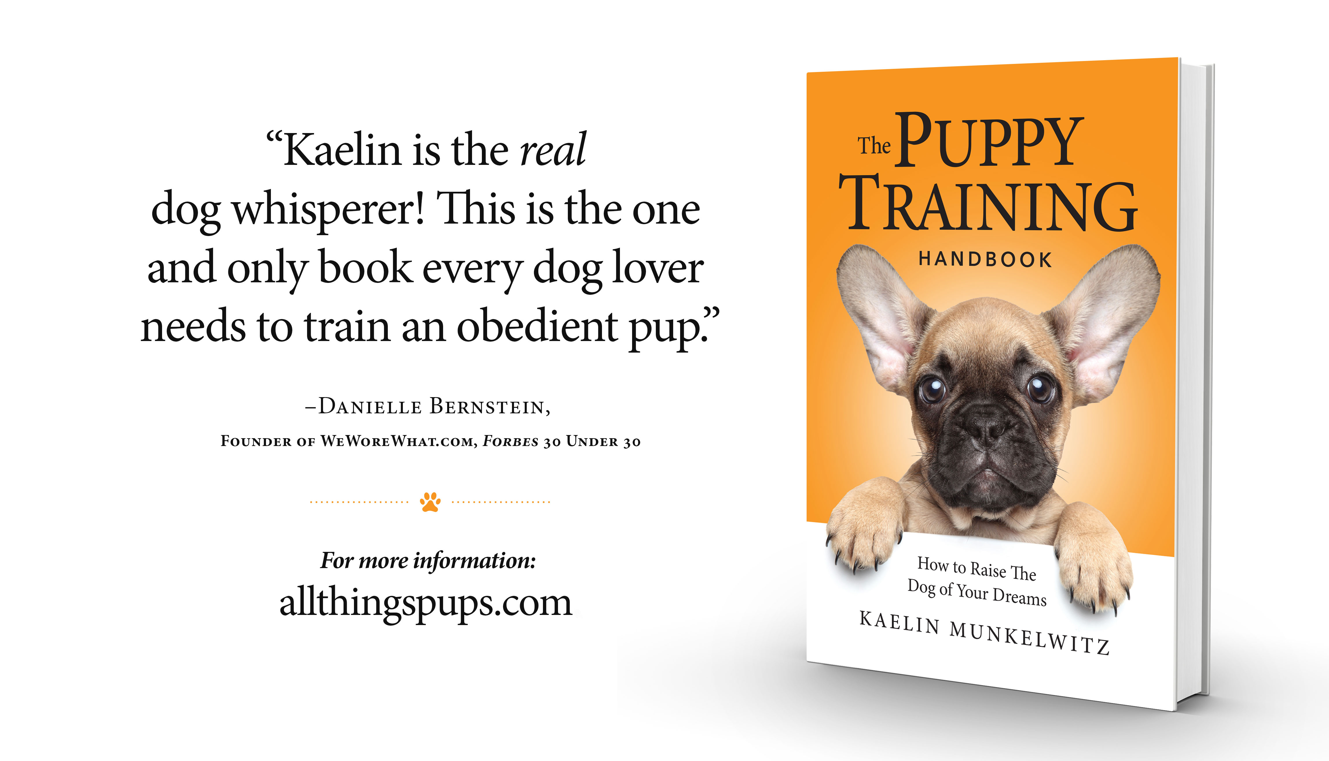 All Things Pups - The Puppy Training Handbook
